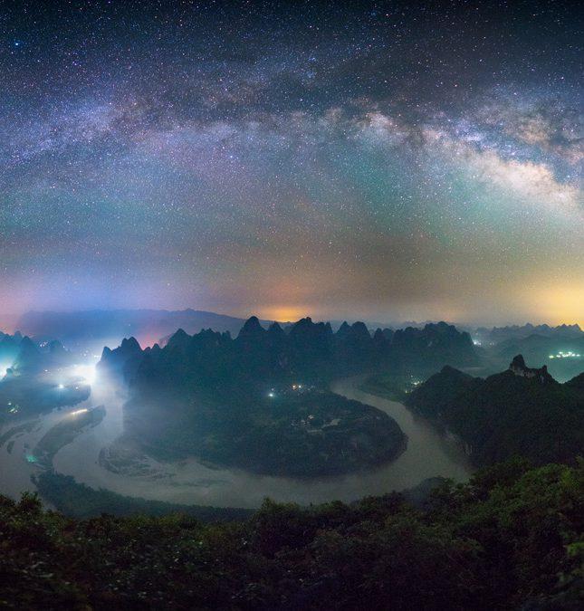 灕江第一灣銀河拱橋